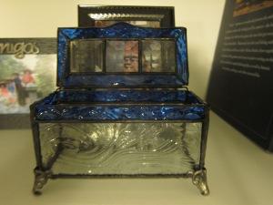 Box #5 Blue Ripple