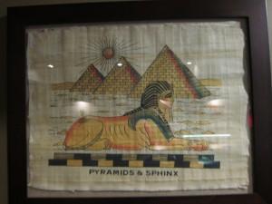 wall art at Taste of Egypt
