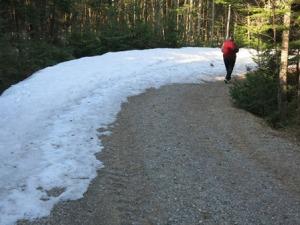 still some snow