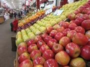 shining apples