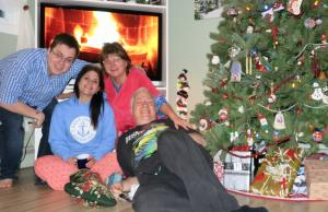 an Alward family Christmas