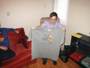 Killer Bee t-shirt from Nevis