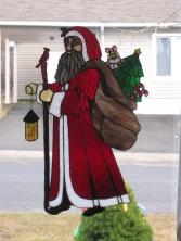 Santa Bearing Gifts