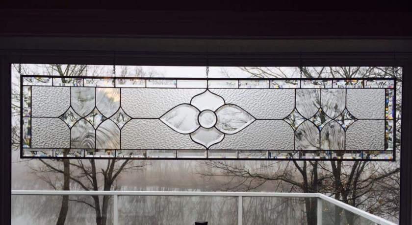 Beveled Cluster Window transom