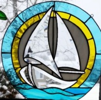 Beveled Sailboat