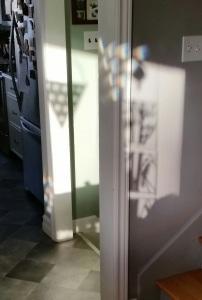 Sunshine through panels