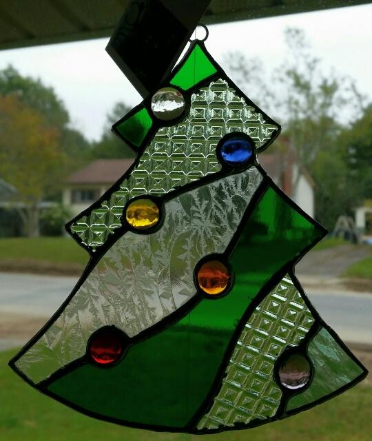 nellyglass Christmas tree