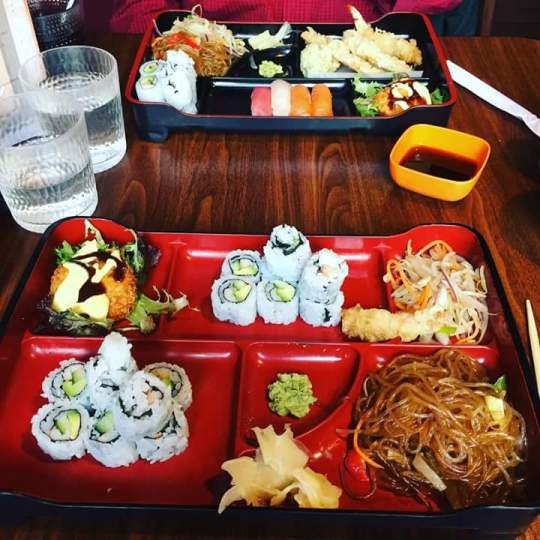 Lunch special at Ta-ke Sushi on King Street