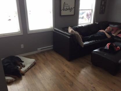 After spa nap